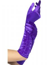 Long Purple Temptress Gloves